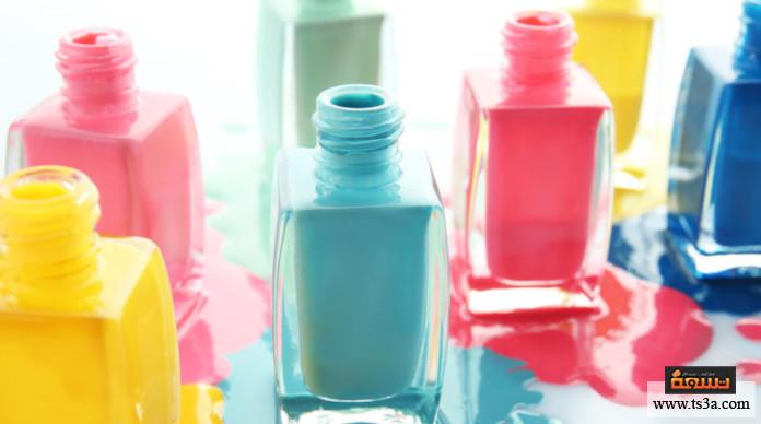 إزالة طلاء الأظافر من الملابس نصائح عند استخدام المانيكير