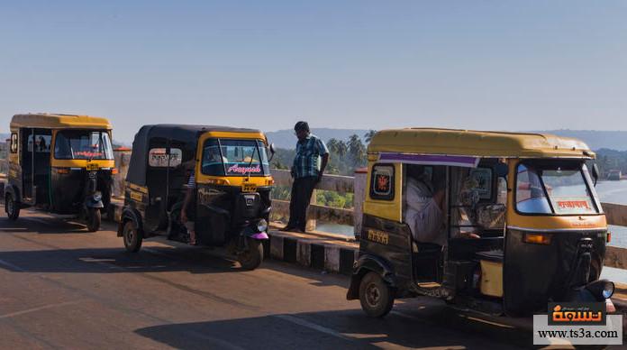 التنقل داخل مصر التوك توك
