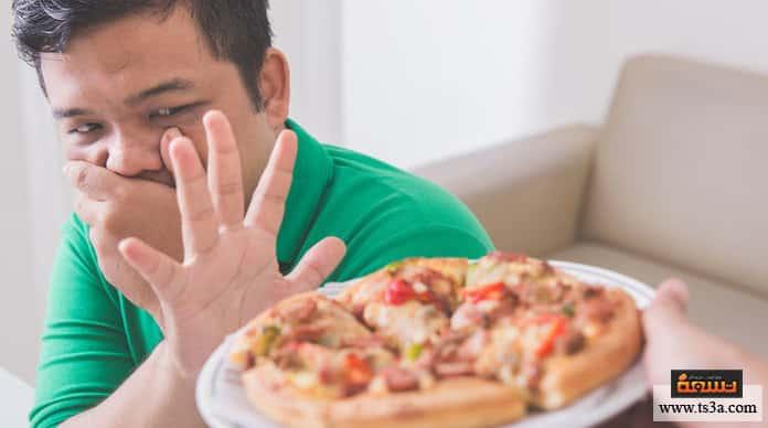 التوقف عن تناول الطعام التوقف عن تناول الطعام