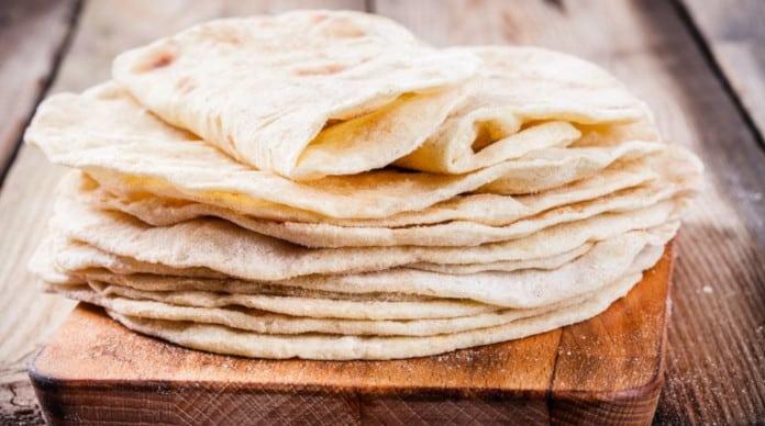 الخبز البلدي طريقة عمل الخبز الشامي