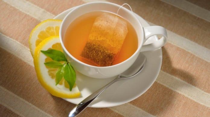 الشاي بالليمون الشاي بالليمون للصحة