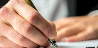 الكتابة الورقية