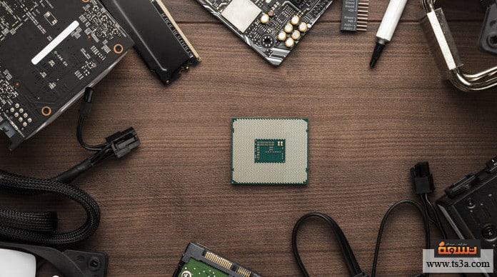 تجميع كمبيوتر للألعاب اختيار معالج الكمبيوتر (CPU)