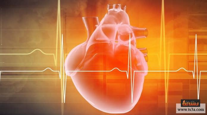 تزايد ضربات القلب تزايد ضربات القلب بعد الأكل