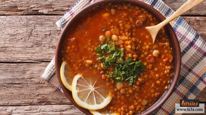 حساء الحريرة حساء الحريرة المغربية