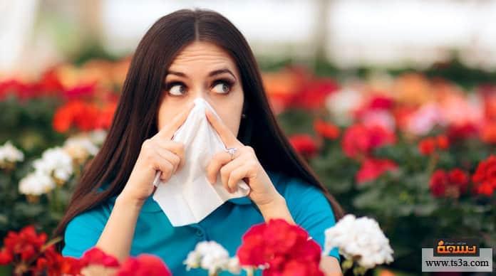 حساسية النباتات
