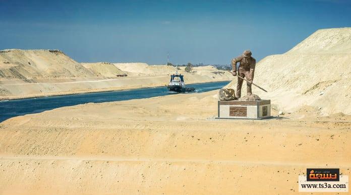 حفر قناة السويس خلال كم سنة تم بناء قناة السويس في مصر؟