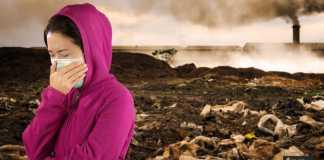 حماية البشرة من التلوث