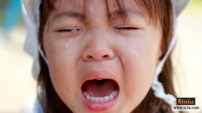 طفل السنتين طفل السنتين كثير البكاء