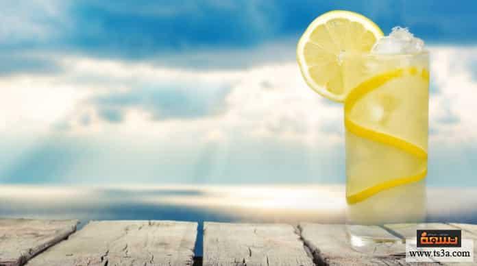عصير الليمون فوائد عصير الليمون على الريق
