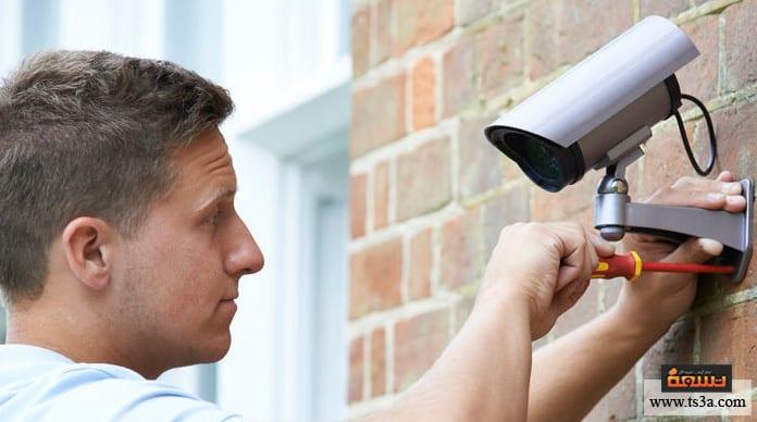 كاميرات المراقبة كاميرات المراقبة المنزلية
