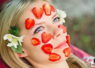 ماسك الفراولة