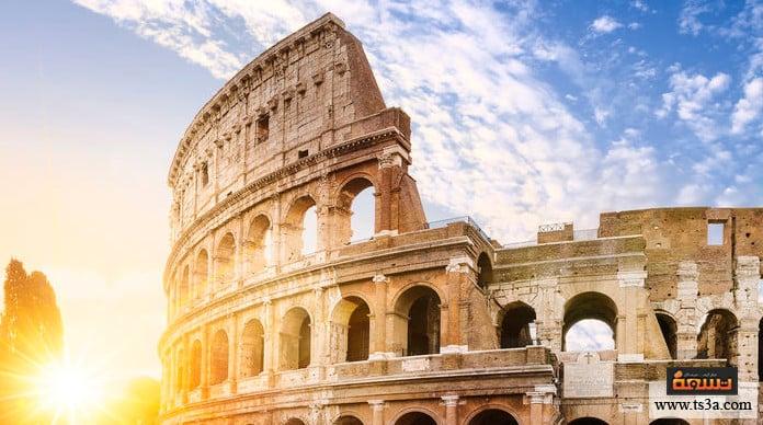 نظام الحكم في روما مظاهر الحضارة الرومانية