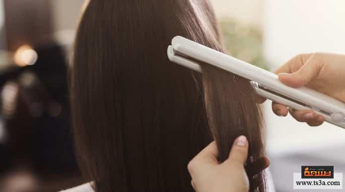 أجهزة فرد الشعر أخطاء استعمال أجهزة فرد الشعر