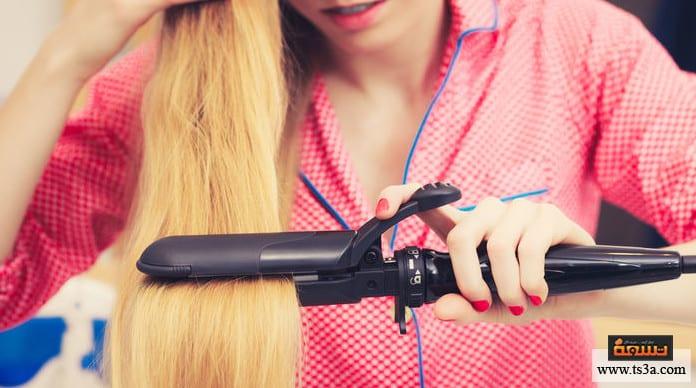أجهزة فرد الشعر أضرار أجهزة فرد الشعر