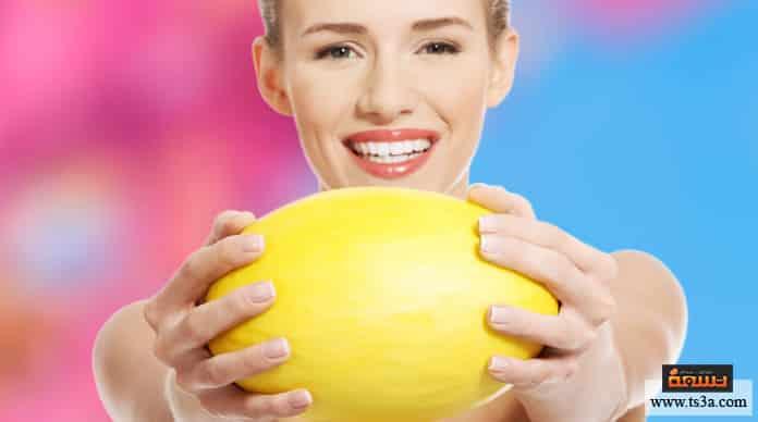 البطيخ الأصفر فوائد البطيخ الأصفر للبشرة