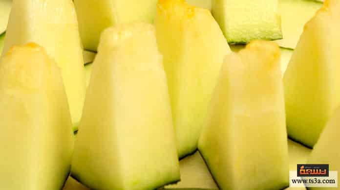 البطيخ الأصفر فوائد البطيخ الأصفر للحامل