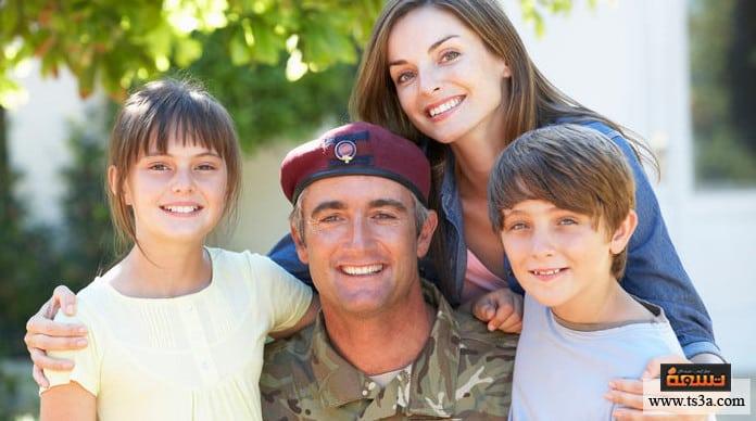 الخدمة العسكرية الخدمة العسكرية والتفكير الإيجابي لتحقيق النفع