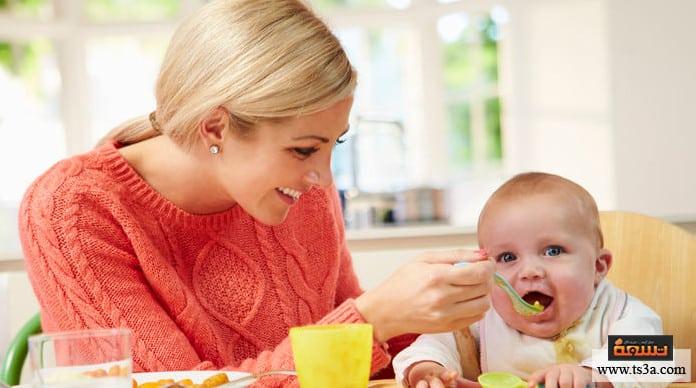 الطفل المفطوم طعام الطفل المفطوم