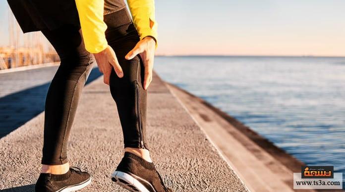 بطة الساق عضلة السمانة عند النساء