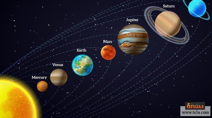 تكون الكواكب أقمار الكواكب في المجموعة الشمسية