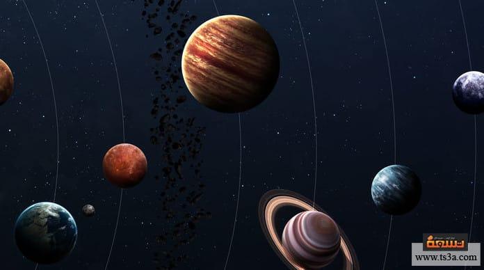 تكون الكواكب سبب تكون الكواكب