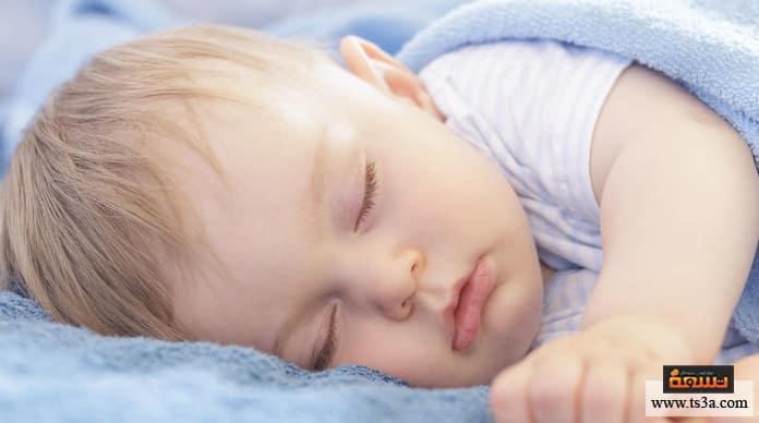 حركة الطفل الكثيرة حركة الطفل الكثيرة أثناء النوم