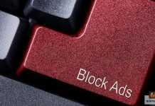 حظر الإعلانات