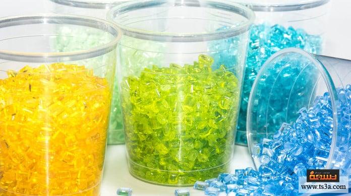 اختيار المواد البلاستيكية