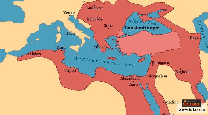 كيف حقق العرب الاستقلال عن الدولة العثمانية تباع ا تسعة