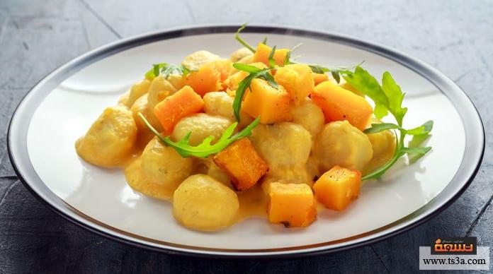 البطاطس المكمورة