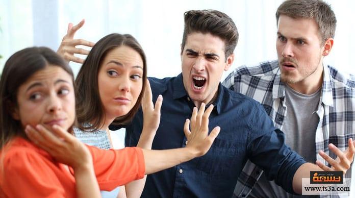 خلافات الأصدقاء المرتبطين لا تتردد في الحديث بموضوعية أمام الطرفين