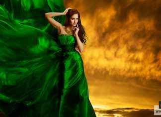 رؤية فستان أخضر في المنام