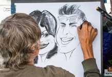 رسم الكاريكاتير