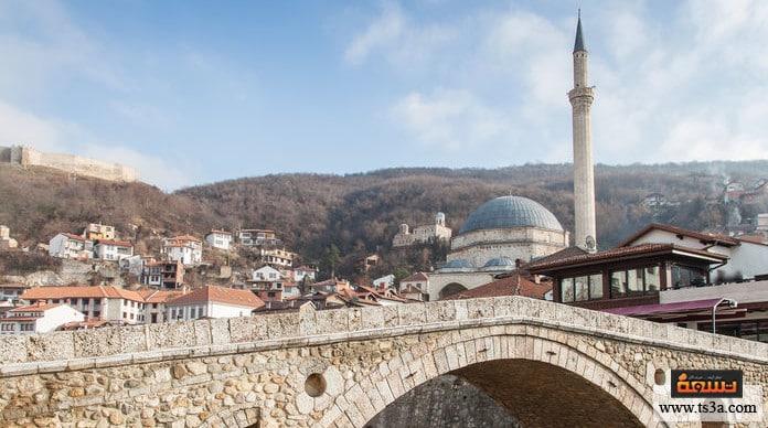 عاصمة كوسوفو مبنى مكتبة كوسوفو الوطنية في عاصمة كوسوفو