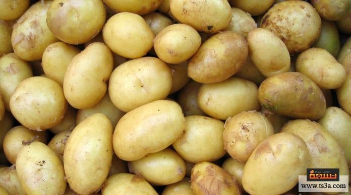 عصير البطاطس عصير البطاطس للبشرة