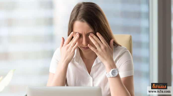 علامات التوتر علامات التوتر النفسي