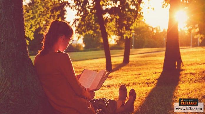 قراءة عمل أدبي ما يمنعنا عن قراءة عمل أدبي