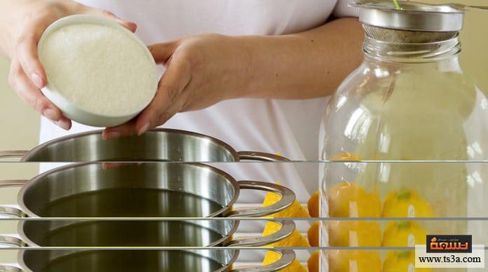 مخلل الليمون طريقة عمل مخلل الليمون والشطة