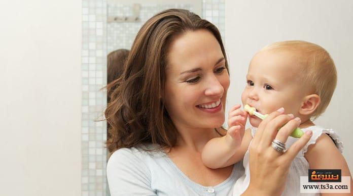 مشاكل أسنان الرضيع علاج مشاكل أسنان الرضيع في المنزل