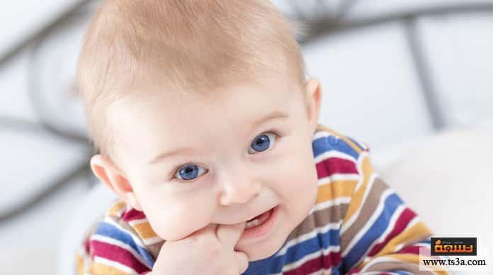 مشاكل أسنان الرضيع