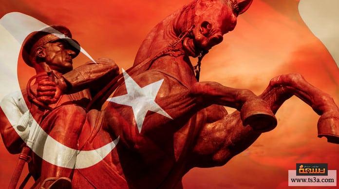 مصطفى كمال أتاتورك وصول مصطفى كمال أتاتورك للرئاسة