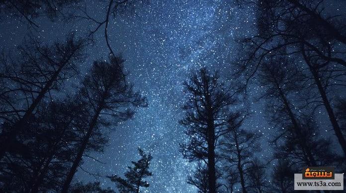 ولادة النجوم مكان ولادة النجوم