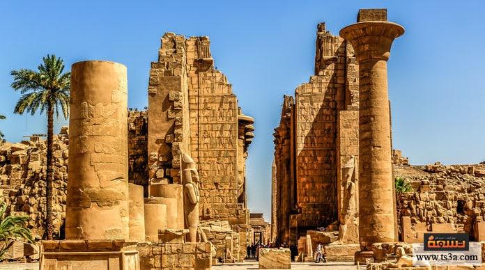 السياحة في الأقصر المعبد الجنائزي في الأقصر