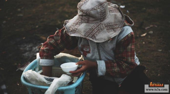 الفقراء في العيد مساعدة الفقراء في العيد