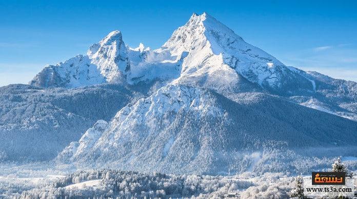 تكون الجبال الجبال لها جذور