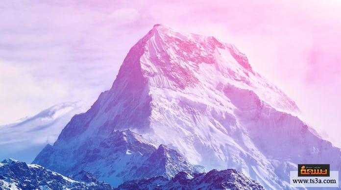 تكون الجبال صفات الجبال