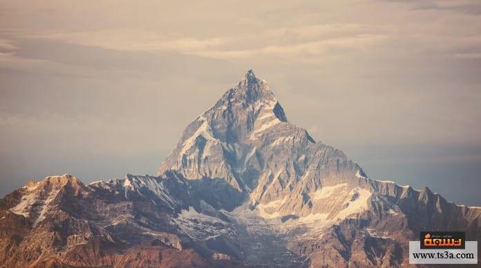 تكون الجبال
