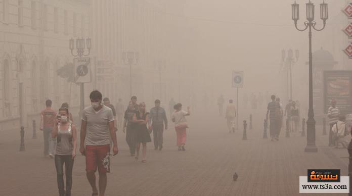 تلوث الهواء ومعدل الجرائم تلوث الهواء والتأثير الفسيولوجي على الدماغ