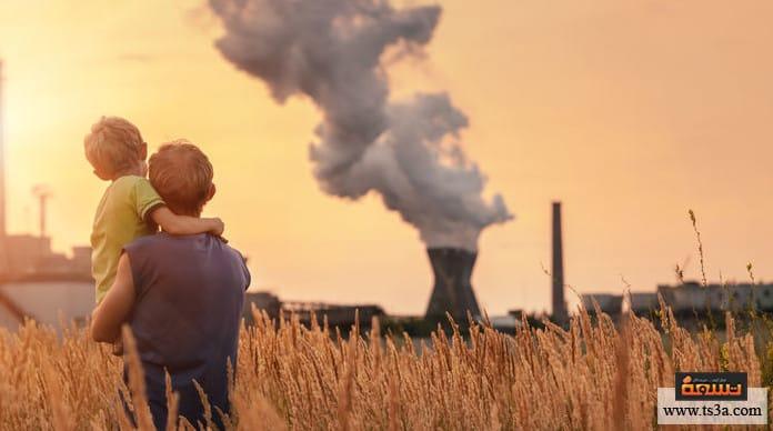 تلوث الهواء ومعدل الجرائم شدة تلوث الهواء